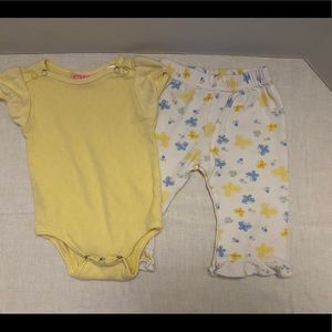 Vintage Baby Girl's 2-Piece Outfit